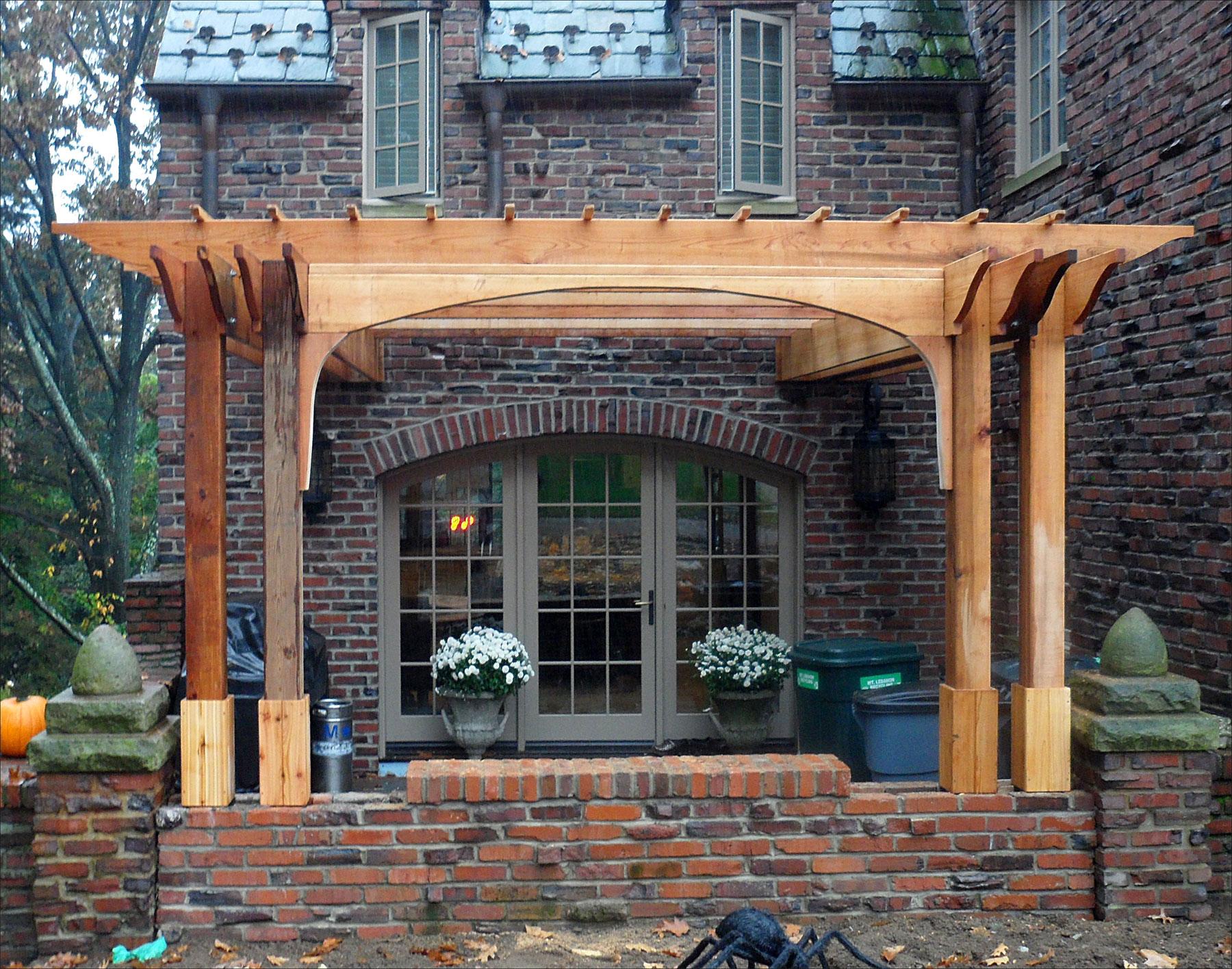 Awesome Cedar Pergola