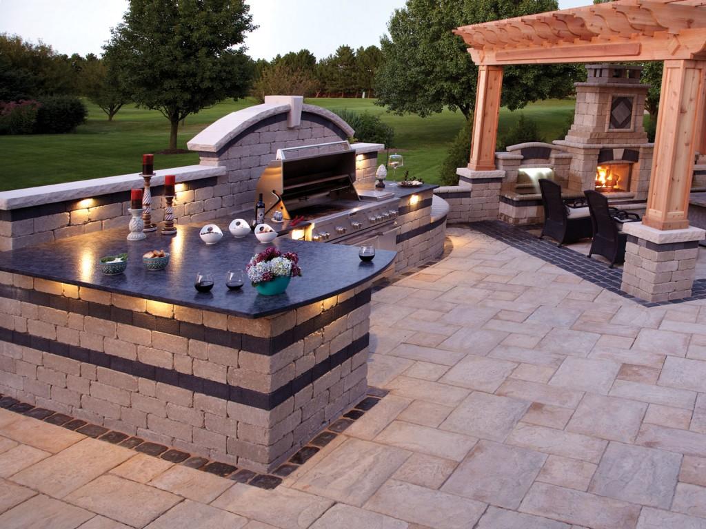Backyard Bbq Pit Design