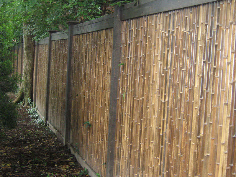 How To Make Bamboo Fencing Rickyhil Outdoor Ideas