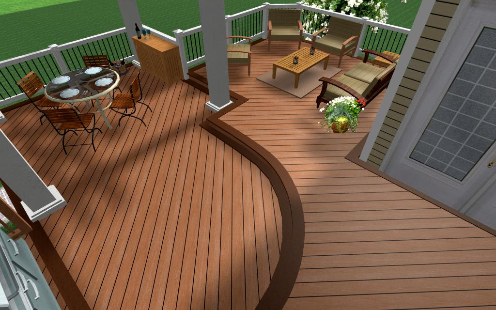 Beautiful Design Trex Deck