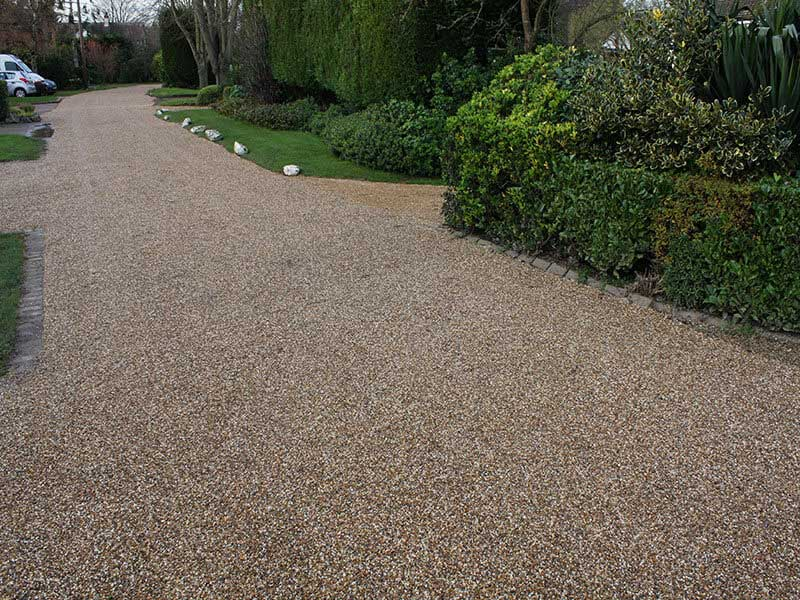 Best Tar And Chip Driveway