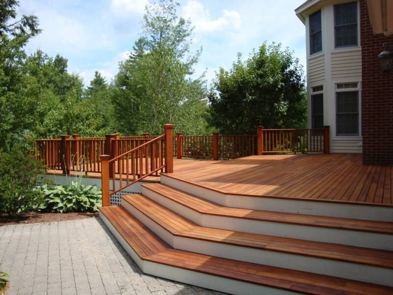 Cedar Decking Photos