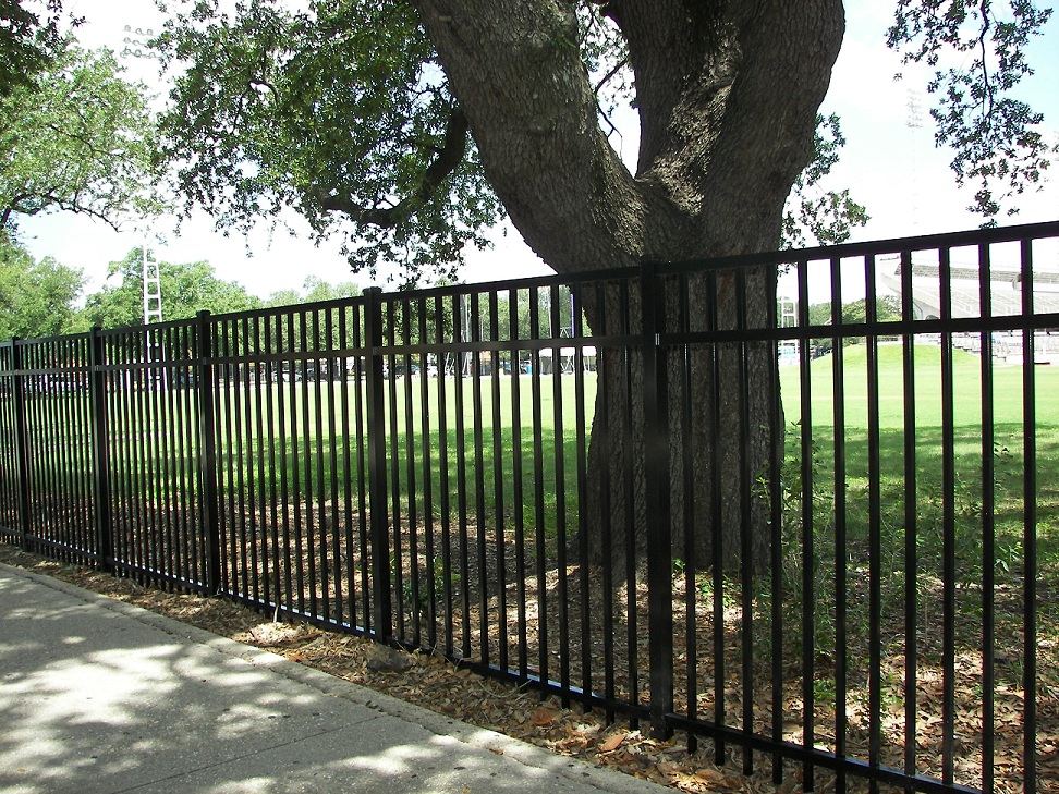 Commercial Aluminum Fencing