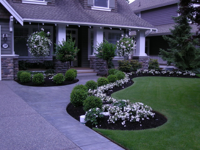 Contemporary Front Yard Landscaping