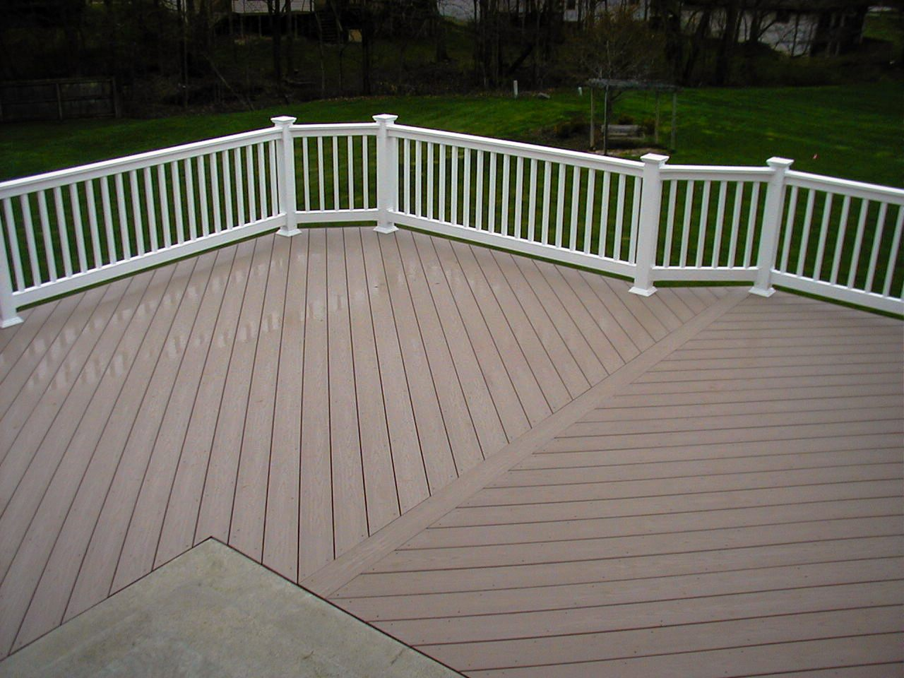 Fake Wood PVC Decking