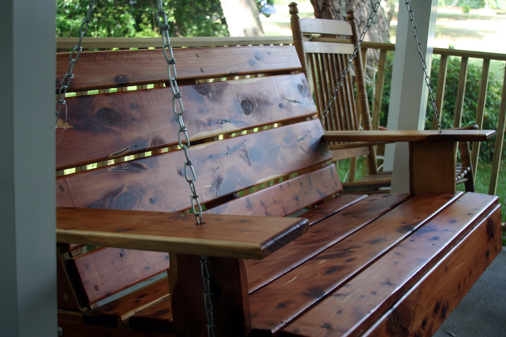 Front Porch Swings Designs