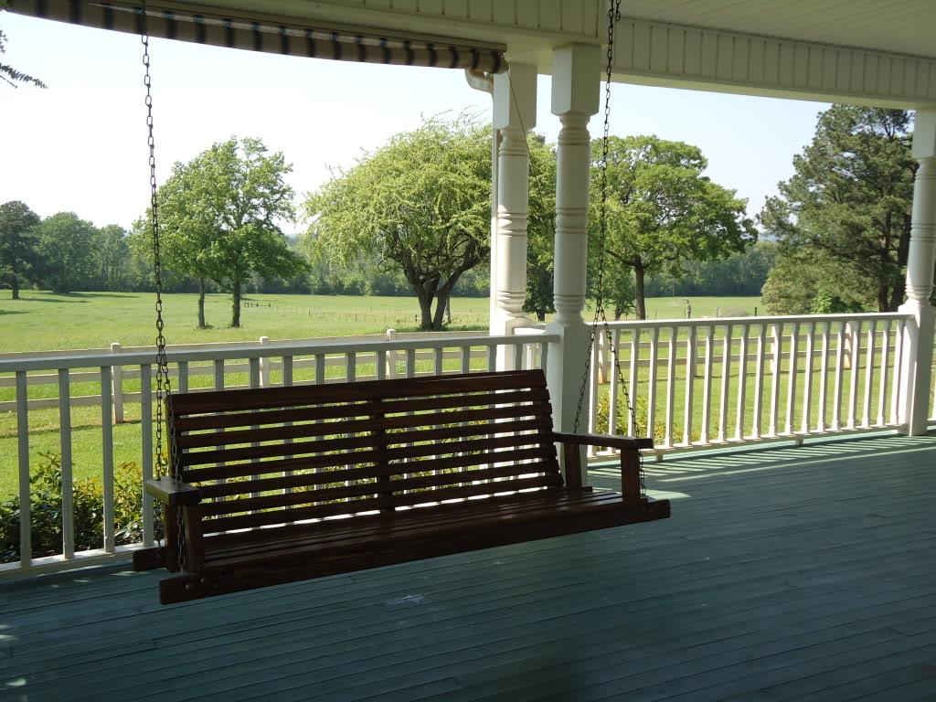 Front Porch Swings Ideas