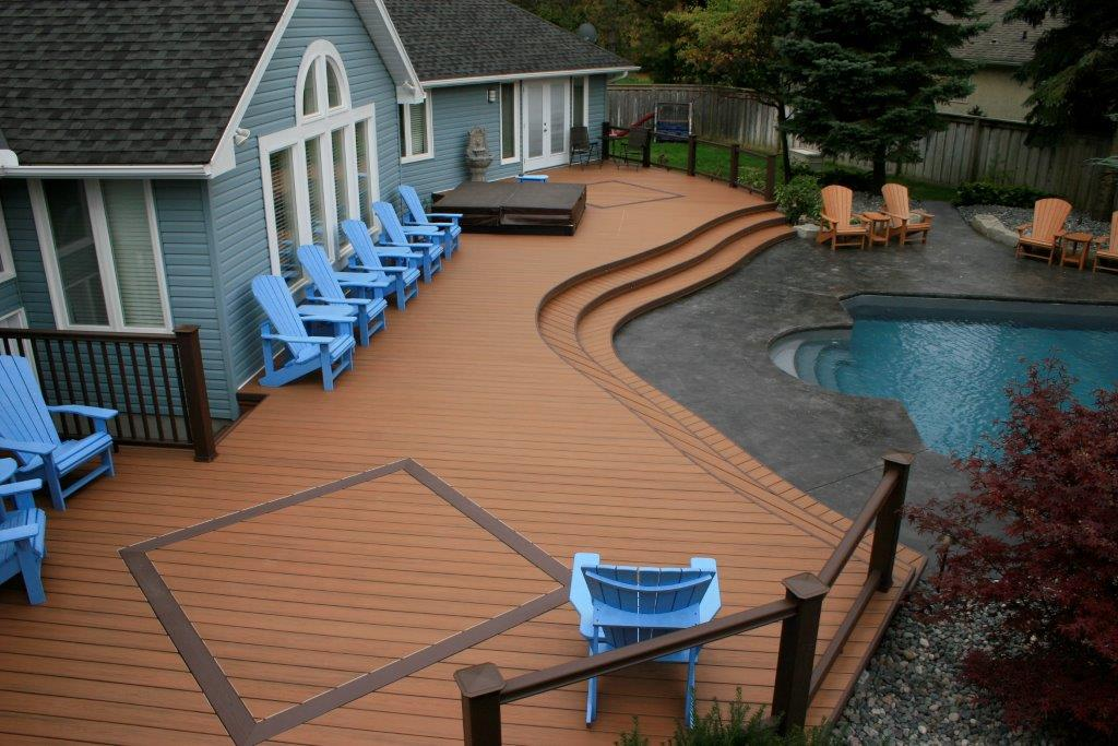 PVC Decking Picture