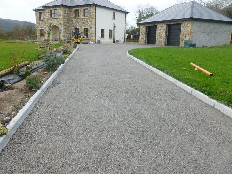 Picture Of Tar And Chip Driveway