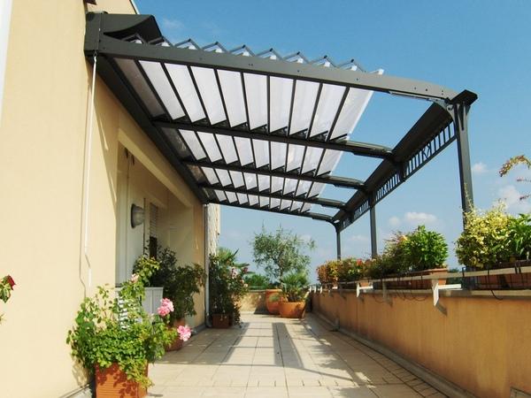 Simple Aluminum Pergola Rickyhil Outdoor Ideas Special