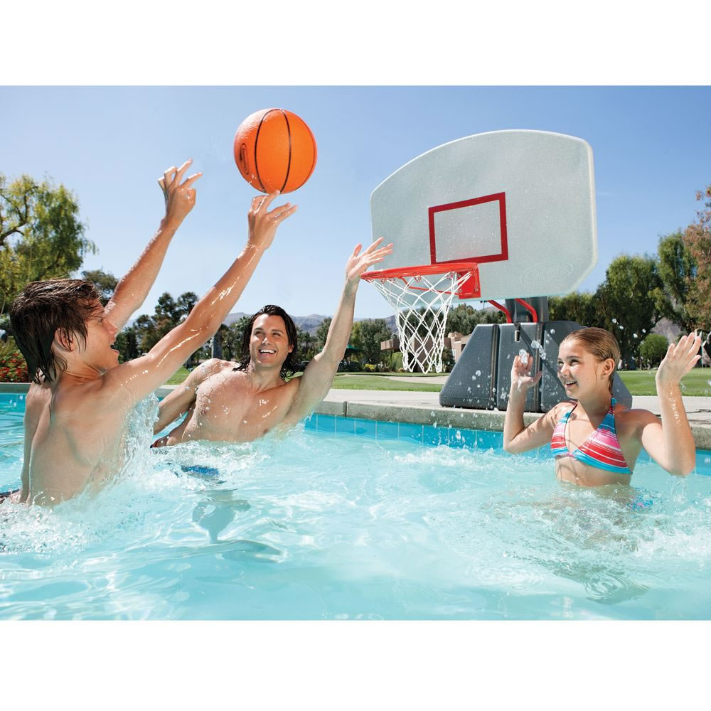 Swimming Pool Basketball Hoop Ideas