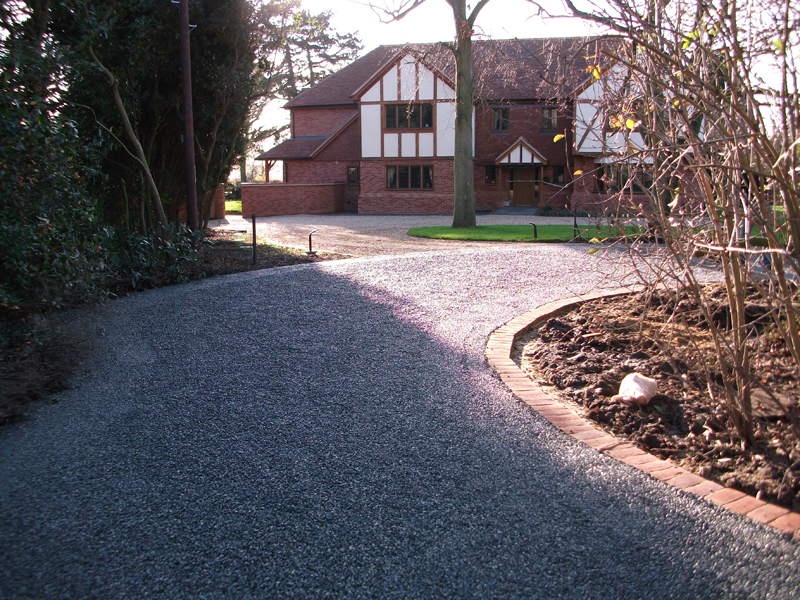 Tar And Chip Driveway Image