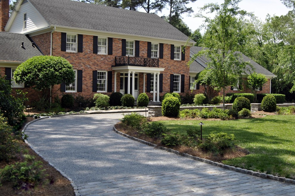 Traditional Tar And Chip Driveway