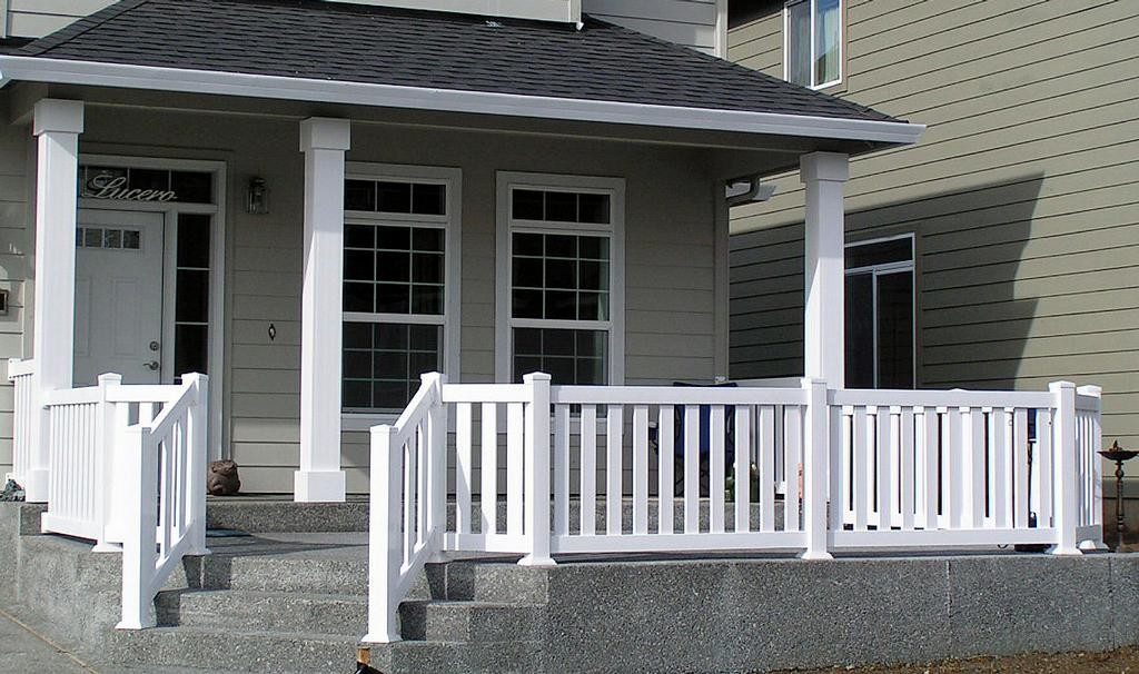 Wooden Front Porch Railing : Rickyhil Outdoor Ideas - How To Build