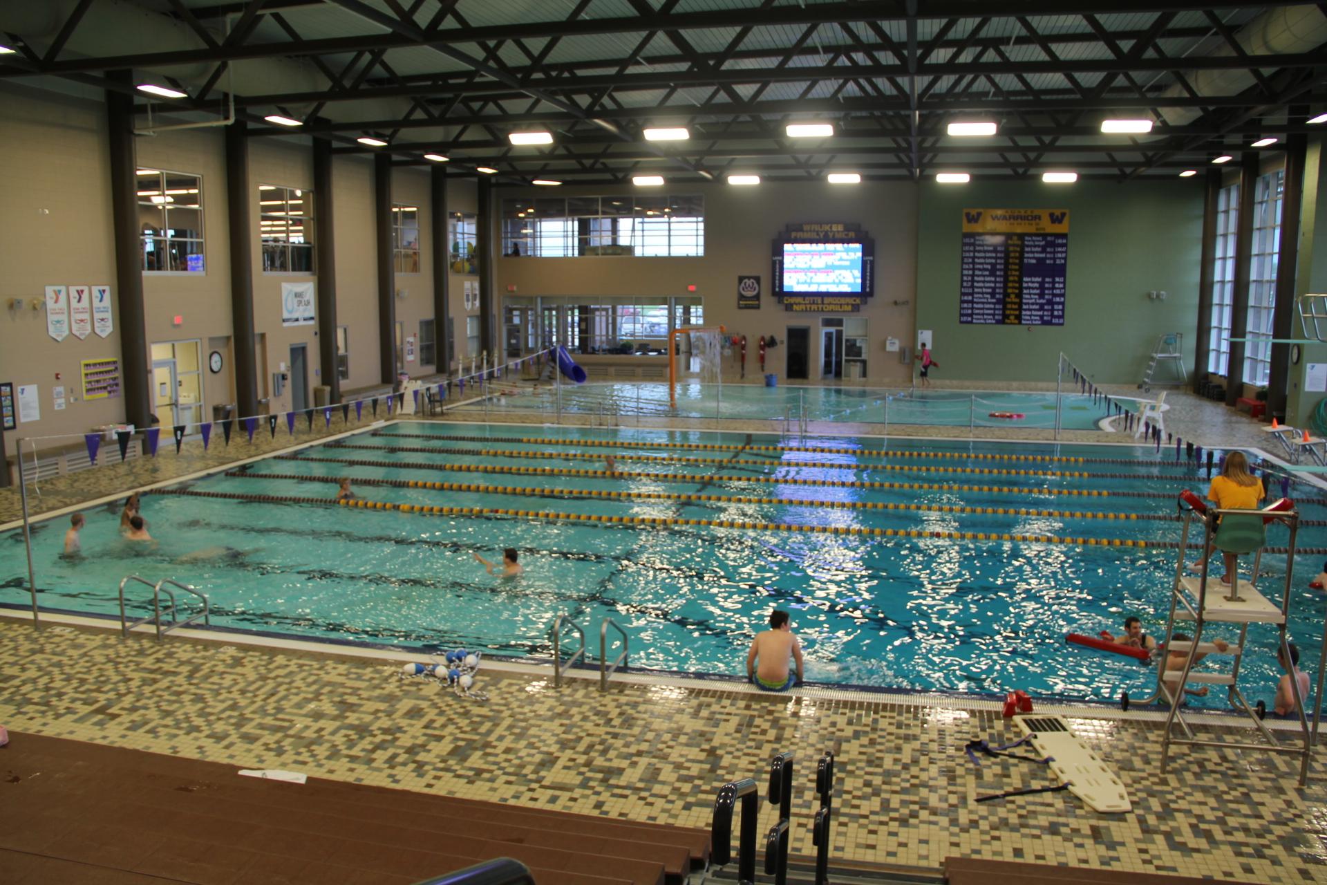 Ymca Swimming Pool Light Blue