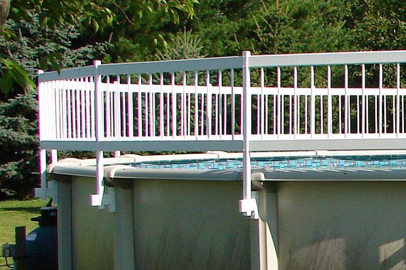 Above Ground Pool Fence Bracing
