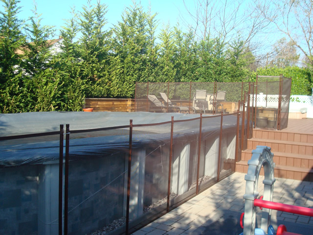 Above Ground Pool Fence Ideas Rickyhil Outdoor Ideas Ideal Above