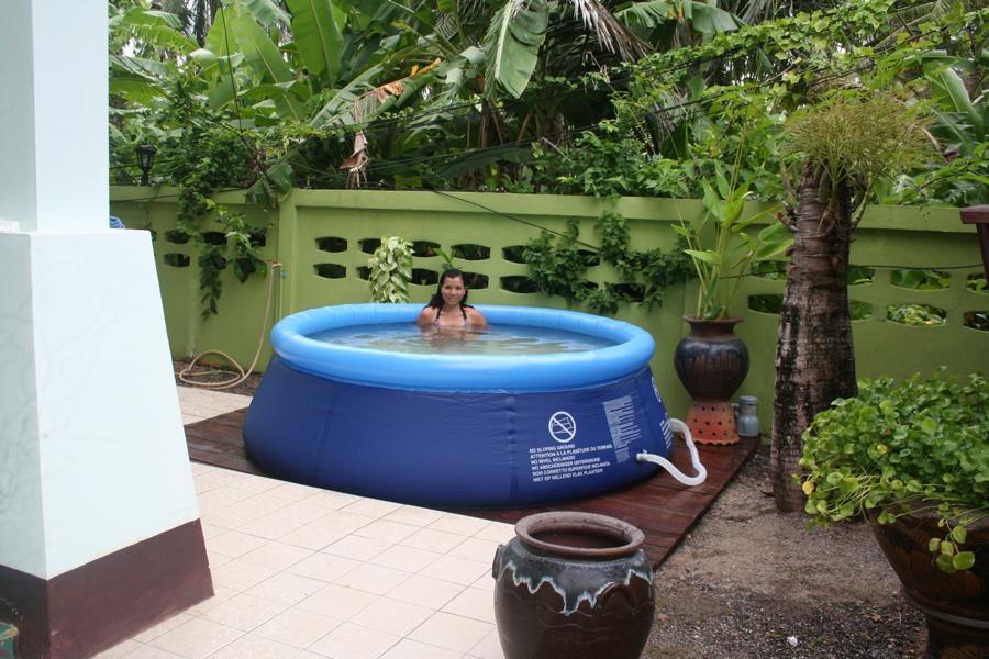Blow Up Swimming Pools Backyard