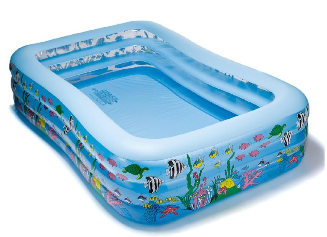 Blow Up Swimming Pools Image