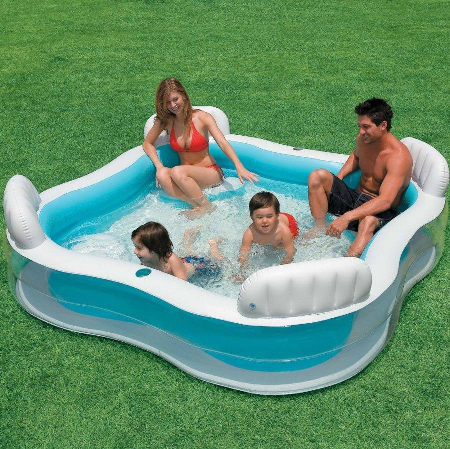 Blow Up Swimming Pools Picture
