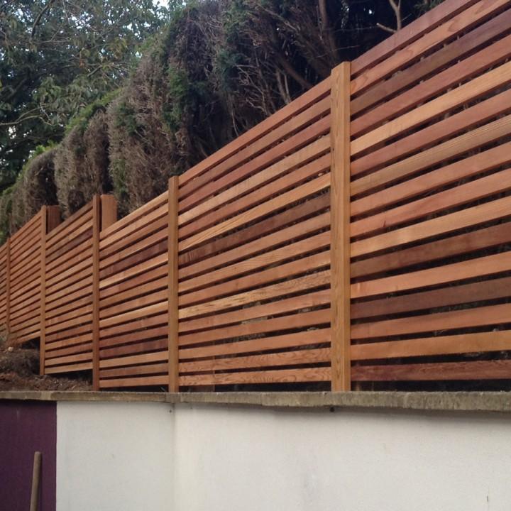 Cedar Fence Panels Screen