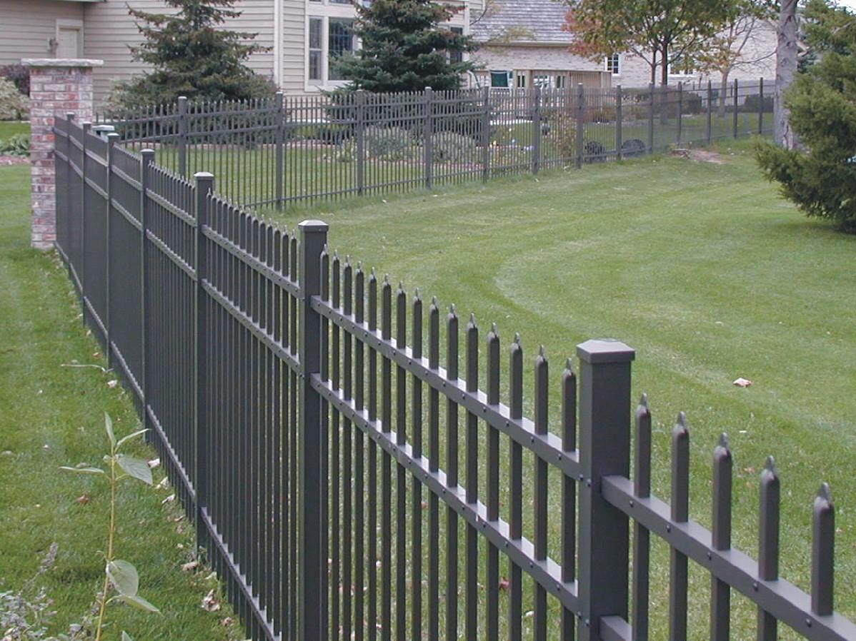 Ideas Aluminum Fencing