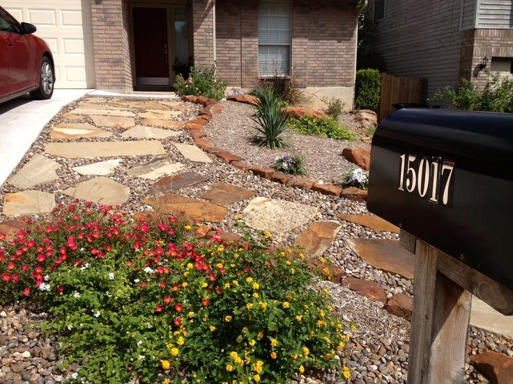 Xeriscape Front Yard Home