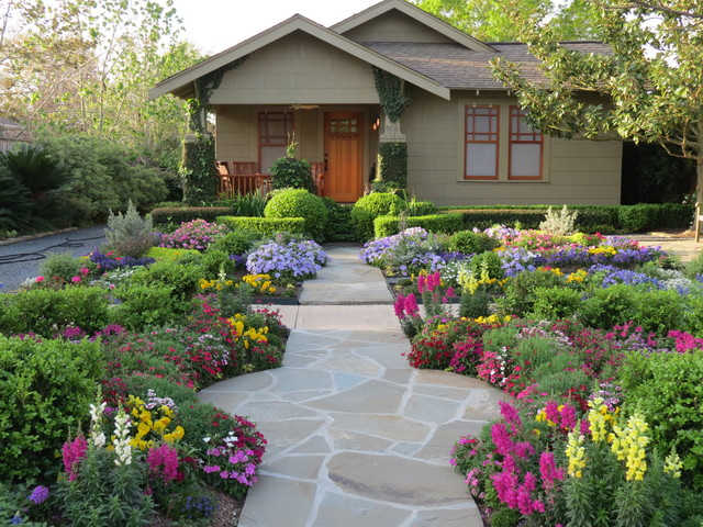 Xeriscape Front Yard Picture