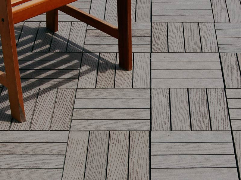 Composite Outdoor Tile For Decks