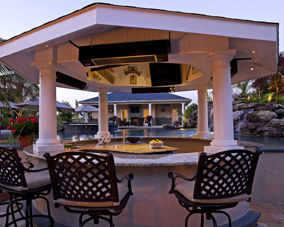 Backyard Outdoor Bar Stool