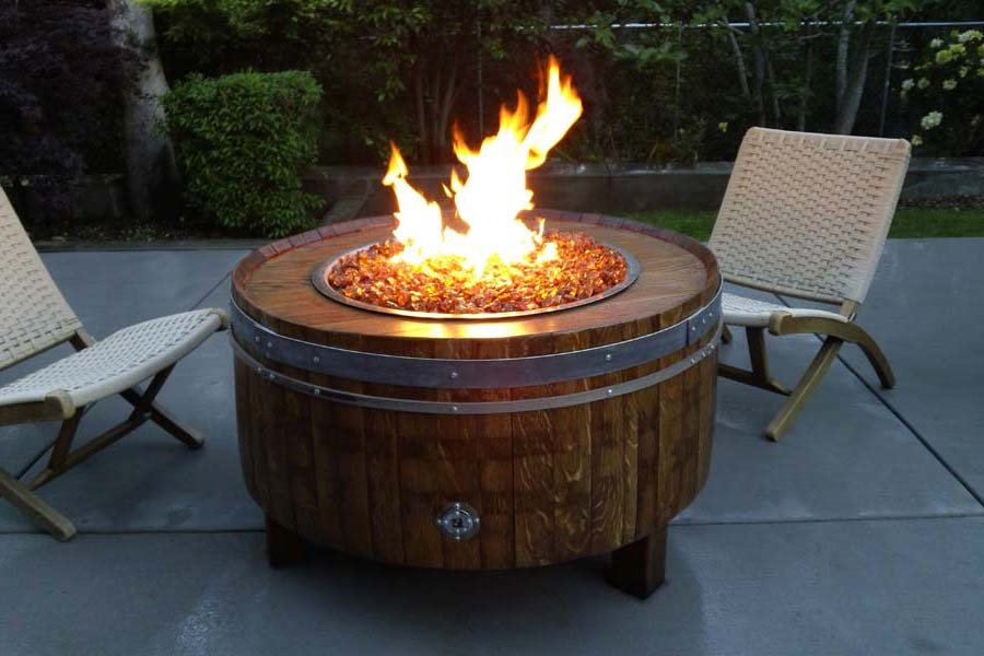 Outdoor Natural Gas Fire Pit Kits
