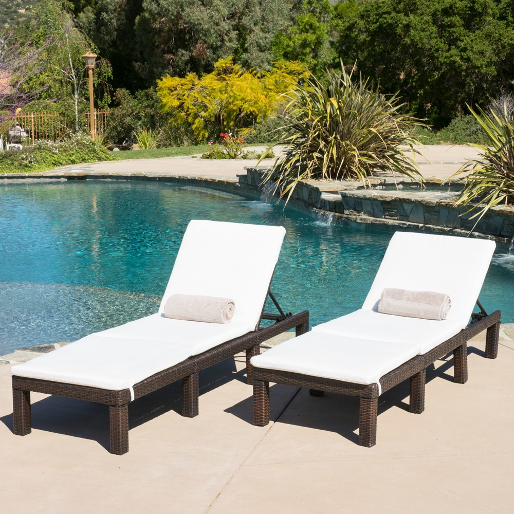 Pool Chaise Lounge Cushions