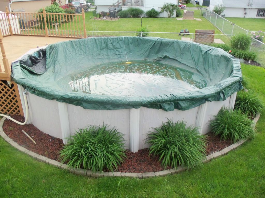 Above Ground Pool Covers Ideas