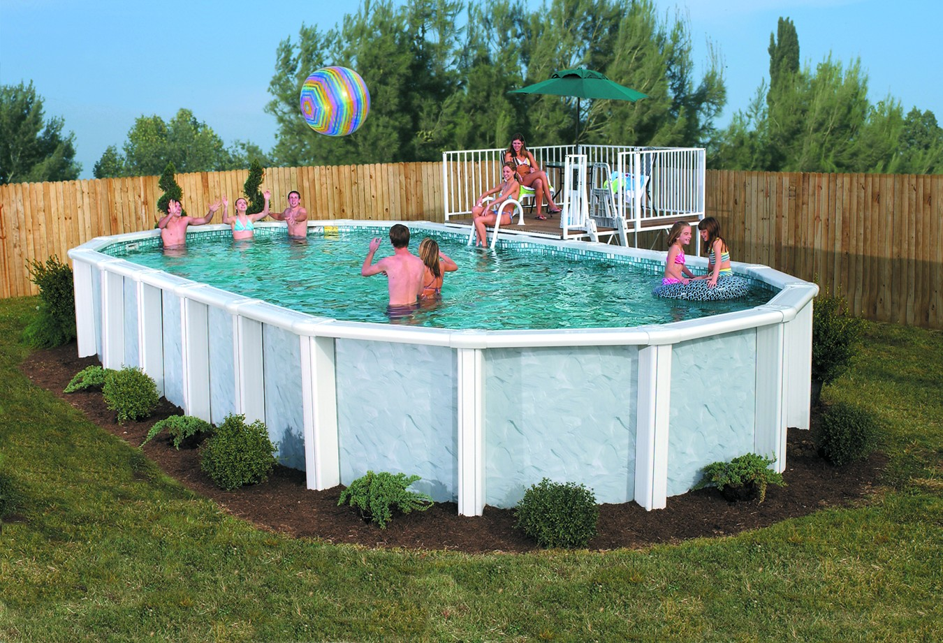 Above Ground Swimming Pools Idea : Rickyhil Outdoor Ideas - Above ...