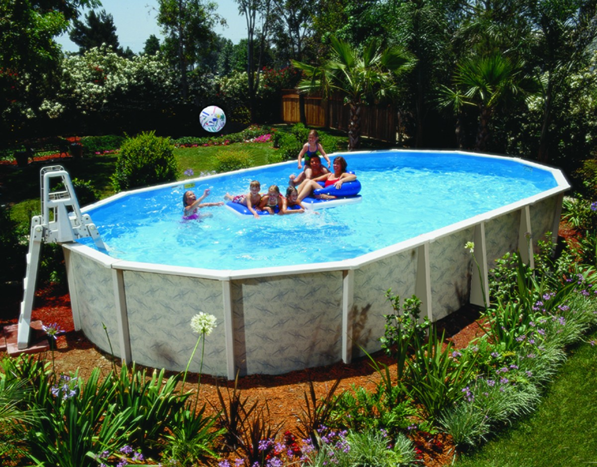 Nice Above Ground Swimming Pools Rickyhil Outdoor Ideas Above