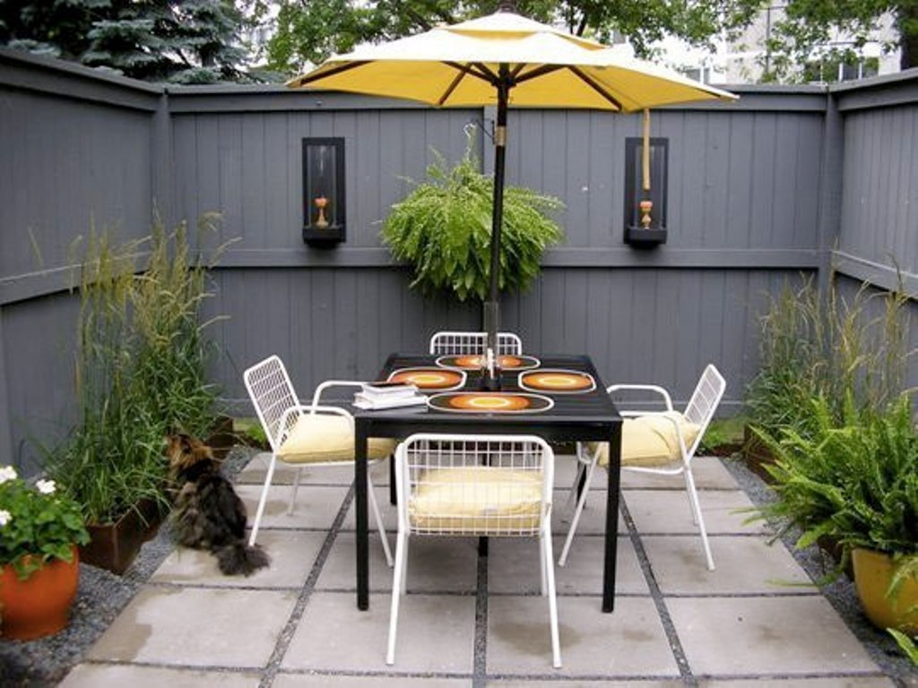 Small Courtyard Landscaping Ideas For Modern Design Rickyhil