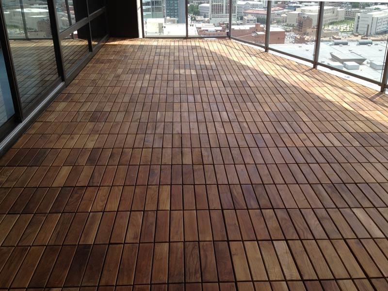 Composite Deck Tiles Decorative