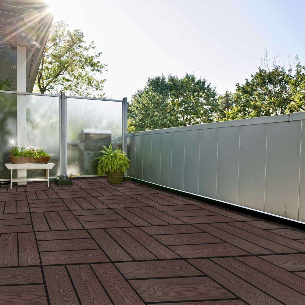 Composite Deck Tiles Design