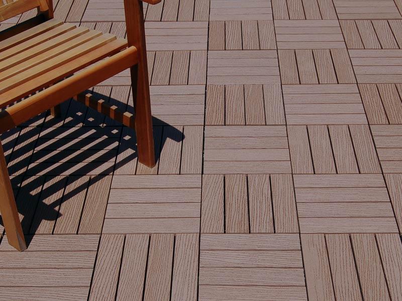 Composite Deck Tiles Idea