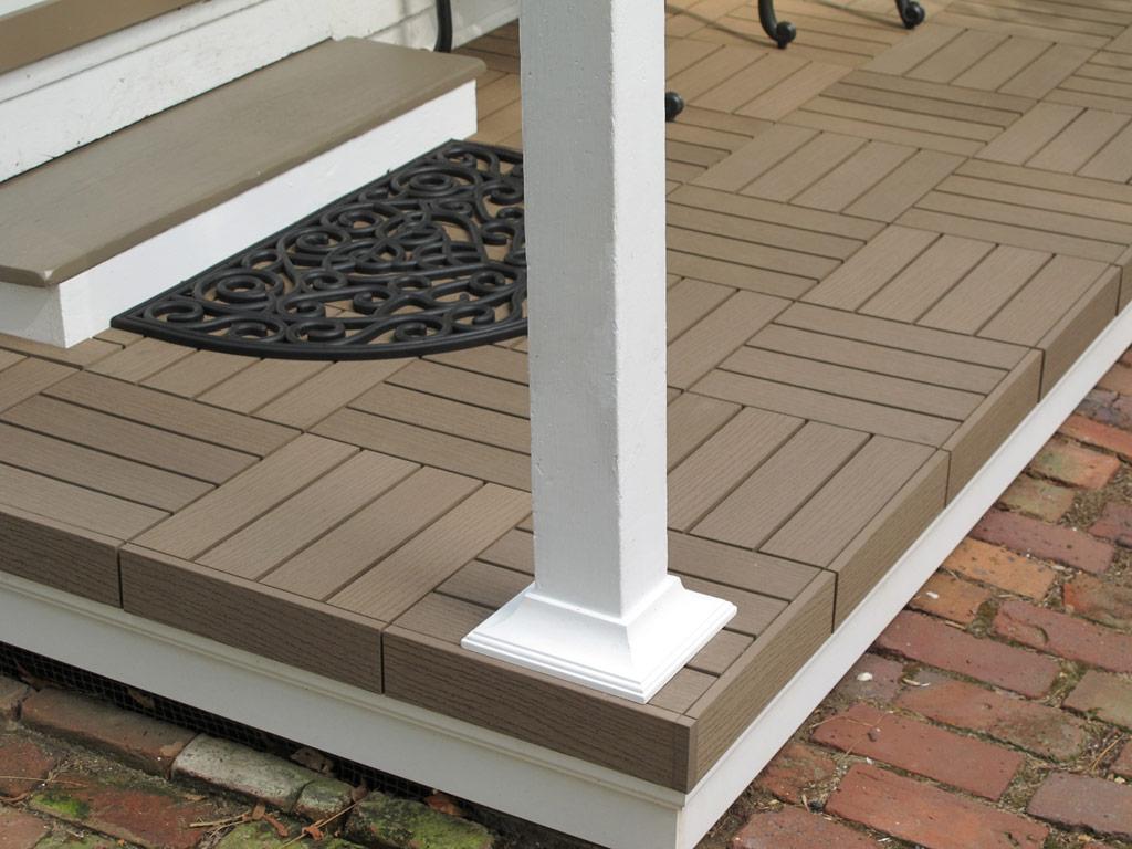 Composite Deck Tiles Plan