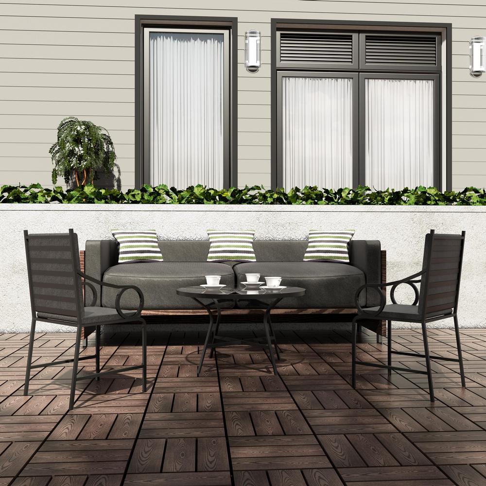 Composite Deck Tiles Surface