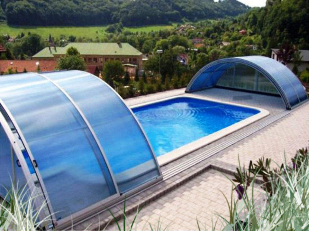 Contemporary Above Ground Pool Covers