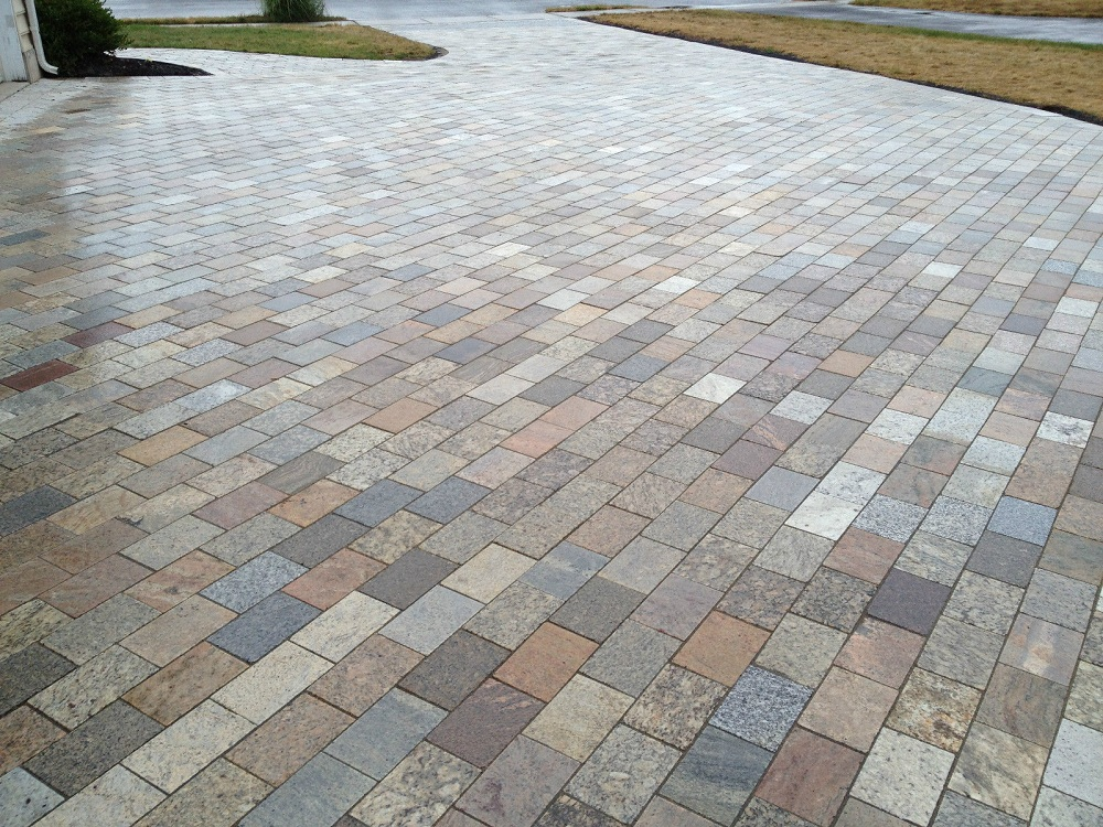 Contemporary Natural Stone Pavers