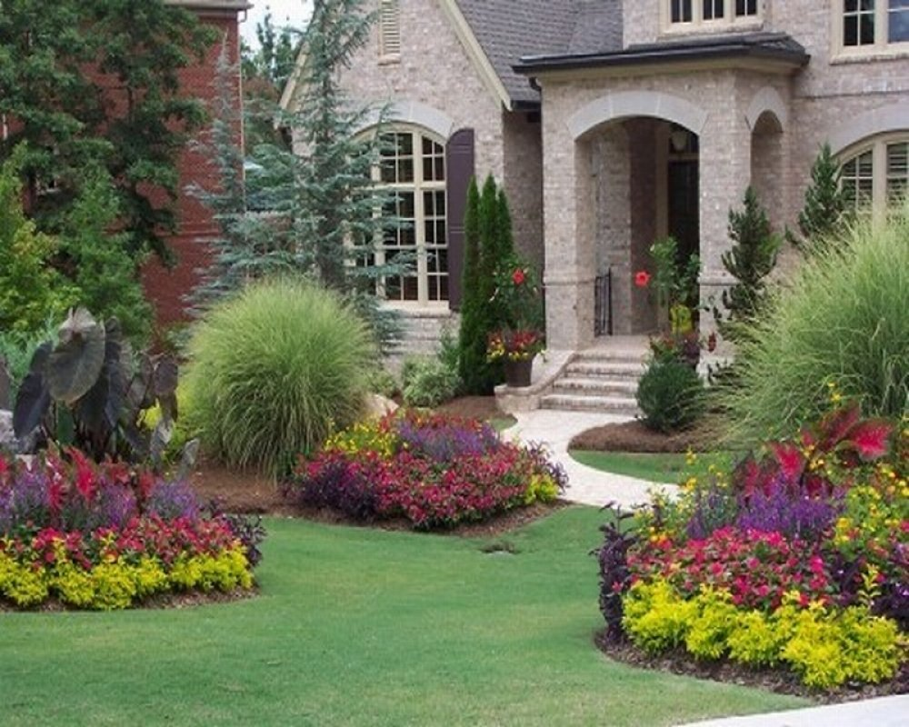 Front Yards Landscaping Planting