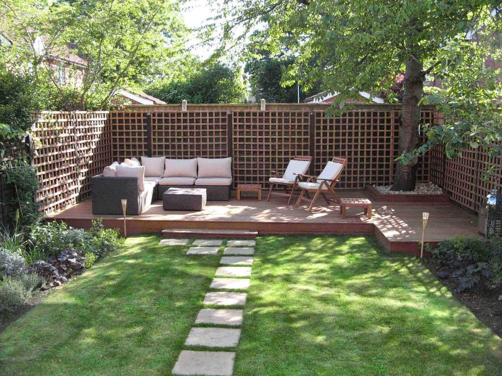 Landscape Courtyard Style