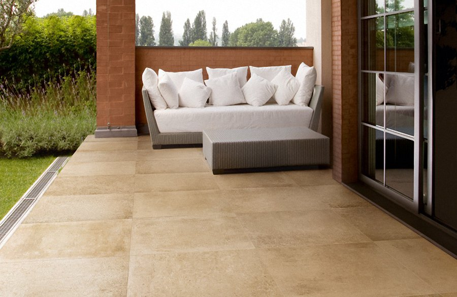 Modern Outdoor Porcelain Tile