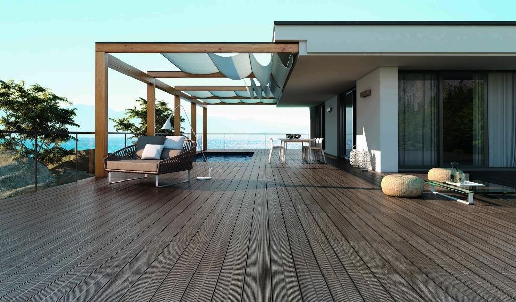 New Wooden Deck Tiles