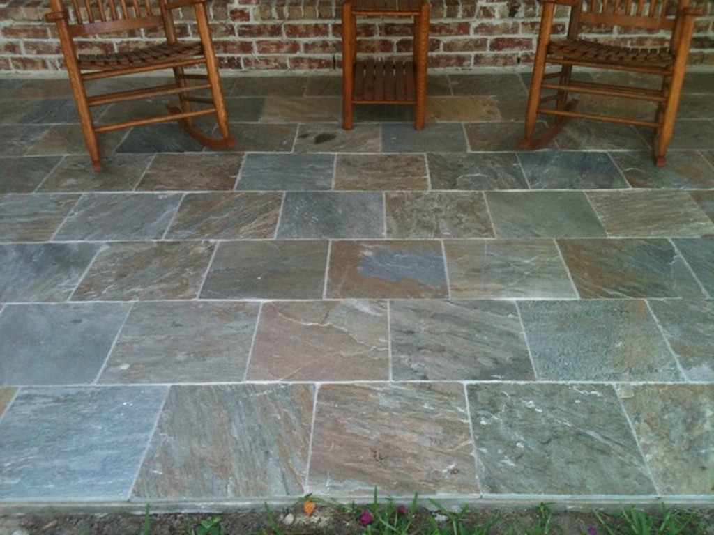Outdoor Slate Tile Flooring