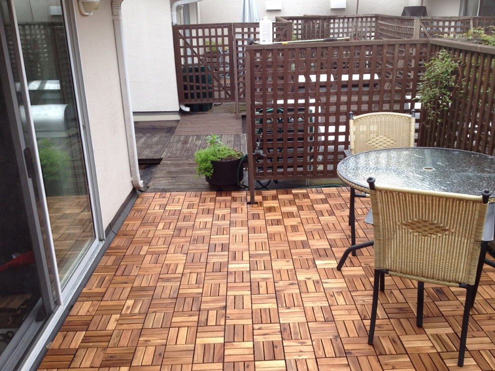 Perfect Ikea Deck Tiles