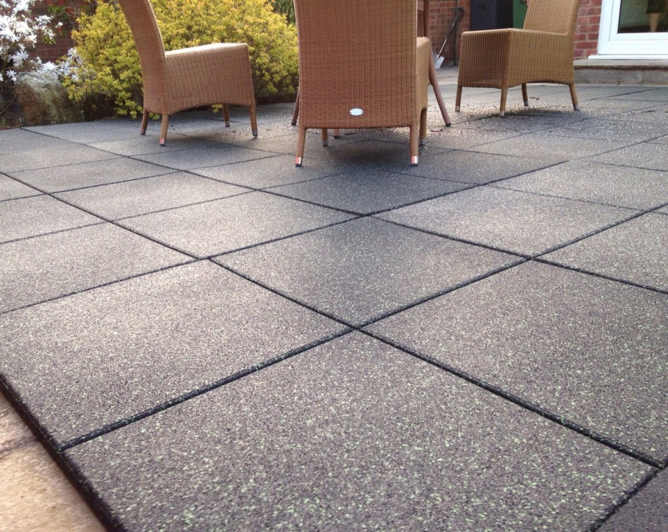 Outdoor Rubber Tiles Picture Rickyhil Outdoor Ideas